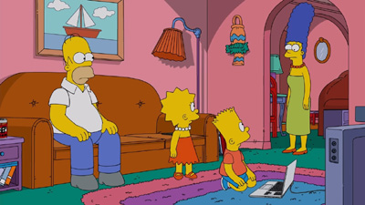 The Simpsons 29x21 : Flanders' Ladder- Seriesaddict